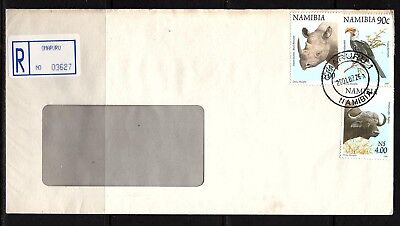 Namibia Cover - Omaruru 1 R - 26.07.2001 via Windhoek