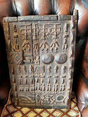 Dogon Wooden Window - Mali-