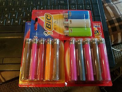 (2)BRAND NEW  5 packs and (1) bic  mini (3) pk.  assorted colors