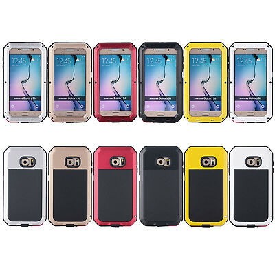 For Samsung Series Aluminum Heavy Duty Shockproof Waterproof Bumper Cover Case