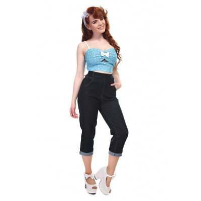 Collectif coco jeans! Like freddies of pinewood! Rockabilly,pin-up,1950's! 10