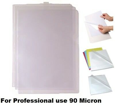 A4 Cut Flush Folder Clear Plastic Documents Wallet Side & Top opening 25 to 1000