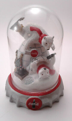 Coca Cola Polar Bears Ice Cold Fun 1995 with Globe Cover
