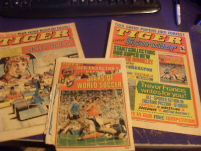 Tiger Comic's Issues 5Th Oct / 12Th Oct + Book 1974