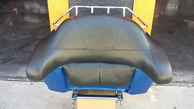 Used Harley Davidson Tour Pack With Backrest, Luggage Rack, Quick Detach Mount