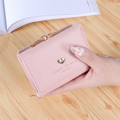 Stylish Metal Frame Kiss-lock Small Clutch Cards Holder Wallet Coin Purse G