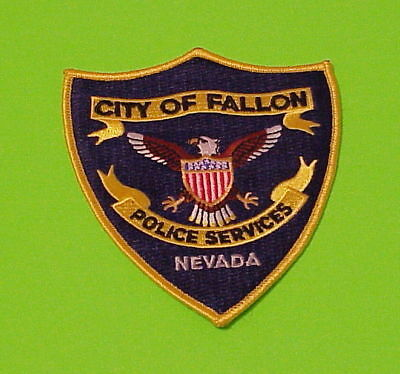 Fallon  Nevada  Nv  Police Services   Police Patch   Free Shipping!!!