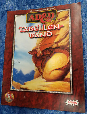 AD&D Advanced Dungeons & Dragons Tabellenband - Paperback (1)