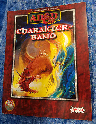 AD&D Advanced Dungeons & Dragons Charakterband - Paperback (3)