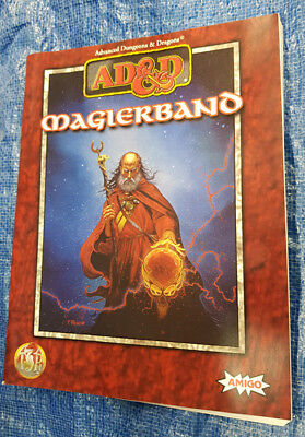 AD&D Advanced Dungeons & Dragons Magierband - Paperback