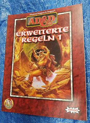 AD&D Advanced Dungeons & Dragons Erweitere Regeln 1 - Paperback