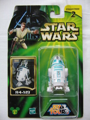 Star Wars Exclusive Star Tours - Col.2 *** R4-M9 Astromech Droid ***