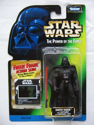 Star Wars POTF-2 - Darth Vader with Removable Cape and Lightsaber
