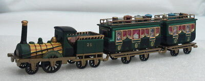 """""""new"""" Dept 56 Dickens Village """"the Flying Scot Train"""" W/box"""