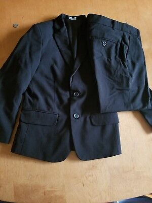 black suit for children brand Calvin Klein Size 8