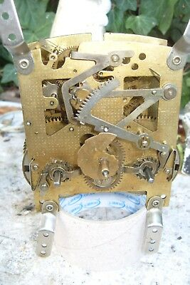 clock parts  SMITHS STRIKING MOVEMENT  F3Q 555  SPARES BUT  TICKING