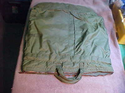 1afdc098f4 VINTAGE US MILITARY USAF Flyers Helmet Bag Aviation ARMY Green