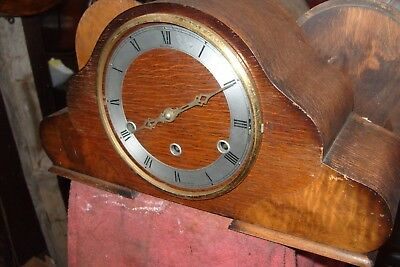 Mantel  Clock  Westminster  Bentima  Made In England