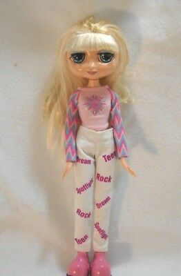 "Mattel 2001 Diva Starz Star 12"" Talking Miranda Blonde Doll Mouth Lights Up"