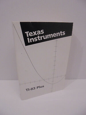 Texas Instruments Ti 92 Graphing Calculator With Owners Instruction