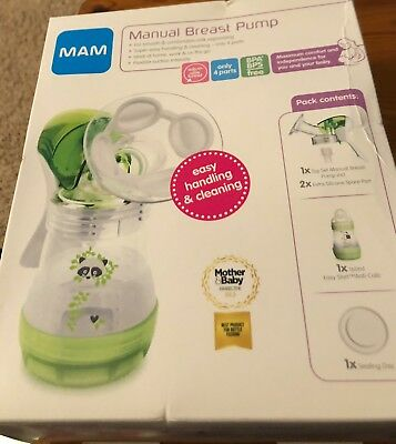 MAM  Manual Breast Pump - in Sealed  Box