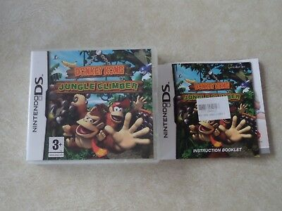 'Donkey Kong: Jungle Climber' Nintendo DS CASE ONLY