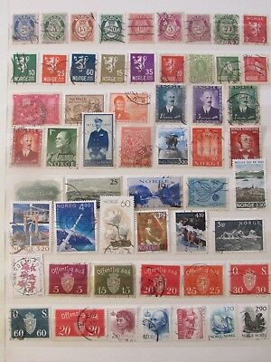 Norway stamp collection2