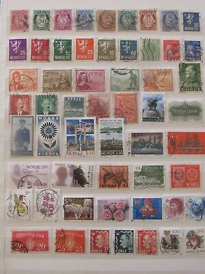 Norway stamp collection