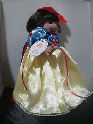 "Precious Moments 12"" Classic Snow White Girl Doll NEW #5149 Vinyl Great Gift!!"
