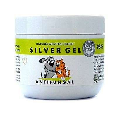 Natures Greatest Secret Colloidal Silver For Pets Antifungal Silver Gel 100ml