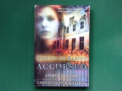 Accursed: Ghosts of Albion by Amber Benson and Christopher Golden (p/b 2005) NEW