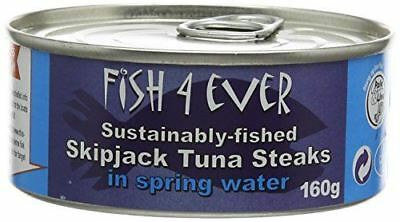 Fish4Ever Skipjack Tuna Steaks In Spring Water