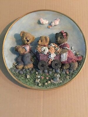 Teddy Bear Plate Made In China