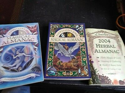 3 Witch & Witchcraft Magical Almanacs