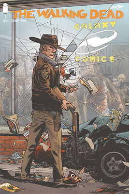 Walking Dead #1 ~ Galaxy Comics Store Exclusive Variant ~ Only 500 Printed!