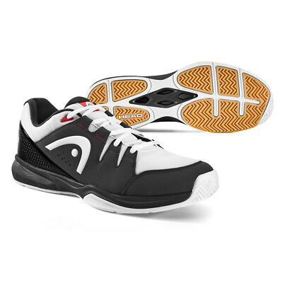 Head Grid 3.0 Indoor Shoes Black & White