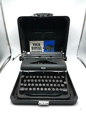 Royal Portable Quiet Deluxe Typewriter