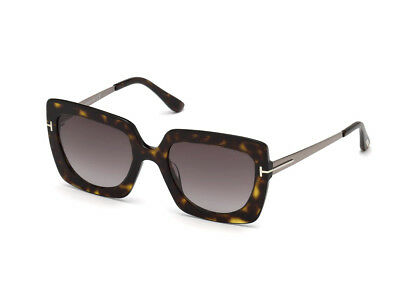fdee67deeb TOM FORD SUNGLASSES FT0590 BRYAN-02 52J Dark Havana 51MM -  227.00 ...