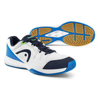 Head Grid 3.0 Indoor Shoes White & Blue