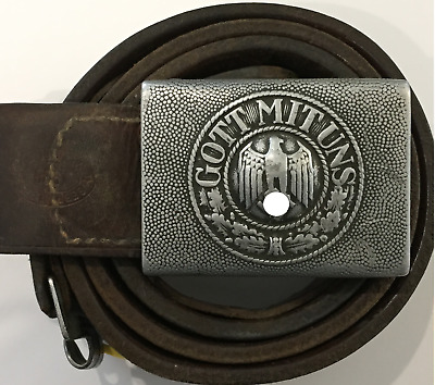 1936 Gott Mit Uns Belt & Buckle - Gebruder Minden - German Army
