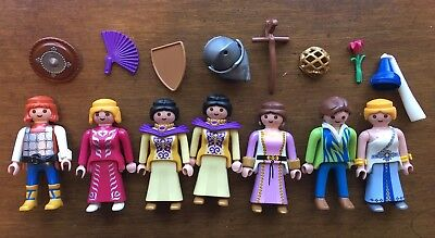 Vintage Castle Playmobils with accessories