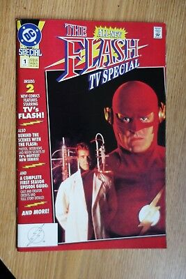 DC The Flash TV Special #1 (1991) Double Size Comic Book