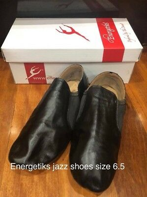 Black Energetiks Jazz Shoes Sz 6.5