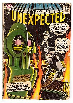 Tales of the Unexpected #27 GD- (1.8) DC Comic 1958