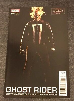 Ghost Rider 1 Marvel 2016 Agents Of SHIELD Photo Variant