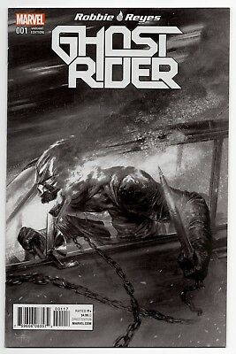 Marvel Now! Ghost Rider #1 Gabriele Dell'otto B&W variant