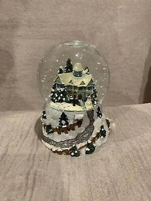 Vintage Snow Globe Antique Christmas