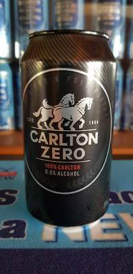 Carlton Zero beer can alcohol free