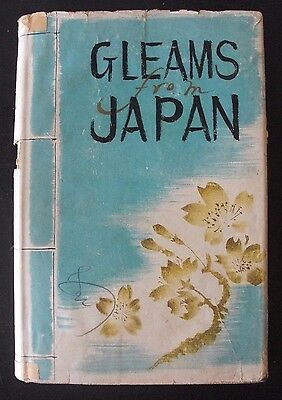 1937 GLEAMS From JAPAN HC Book DJ - Silver Jubilee Edition - Travel - Pre WWII