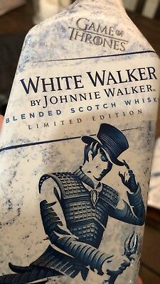 White Walker By Johnnie Walker Game Of Thrones Limited Edition Hbo Got New